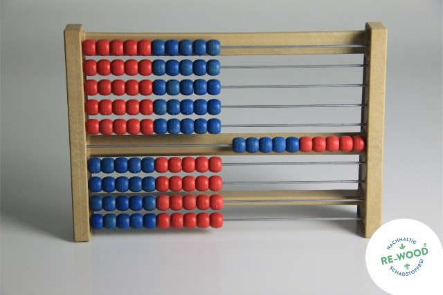 Rechenrahmen (Abakus) 100er Zahlenraum