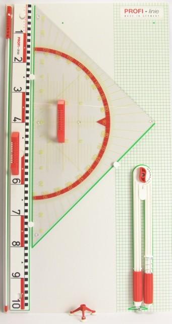 Geo-Gerätetafel Geo-Dreieck 80 cm