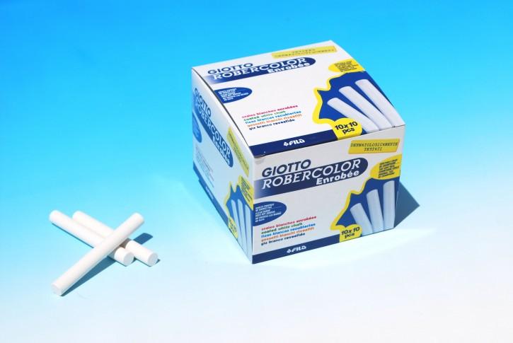 ROBERCOLOR enrobee weiß, Schachtel à 100 Stück (10x10)