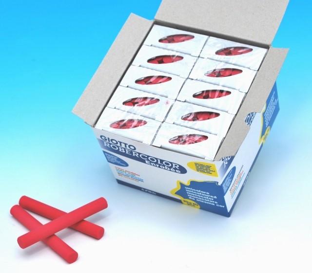 ROBERCOLOR enrobée einfarbig, Schachtel à 100 Stück (10x10)