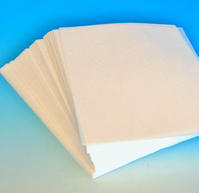Löschpapier für Whiteboards, Pack à 100 Blatt