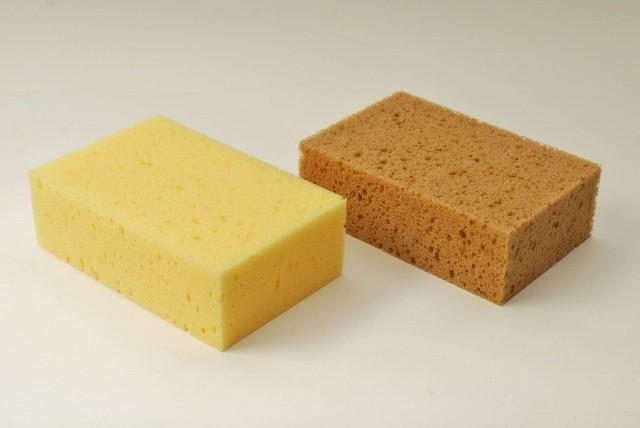 Tafelschwamm groß, 18 X 12 X 6 cm,  wahlweise in gelb oder braun