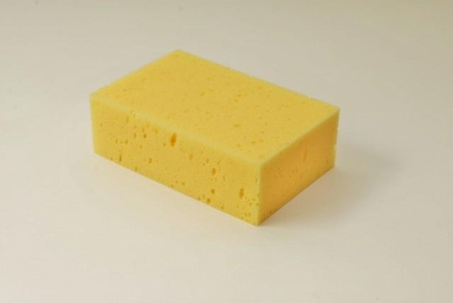 Tafelschwamm groß, 18 X 12 X 6 cm, gelb