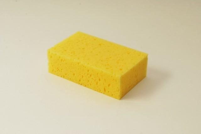 Tafelschwamm klein, 16 X 10 X 5 cm, gelb