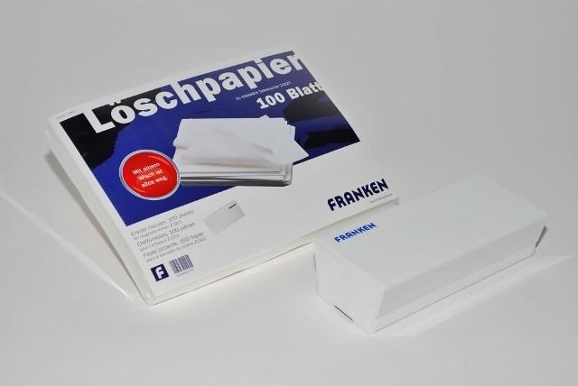 Franken Tafellöscher-Set mit 1 Löscher und 100 Löschpapier