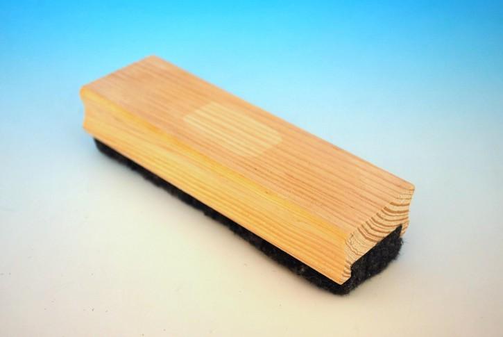 Whiteboard-Löscher mit Holzgriff
