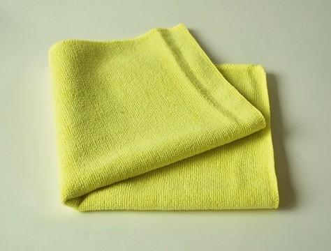 Mikrofasertuch 40 X 40 cm gelb