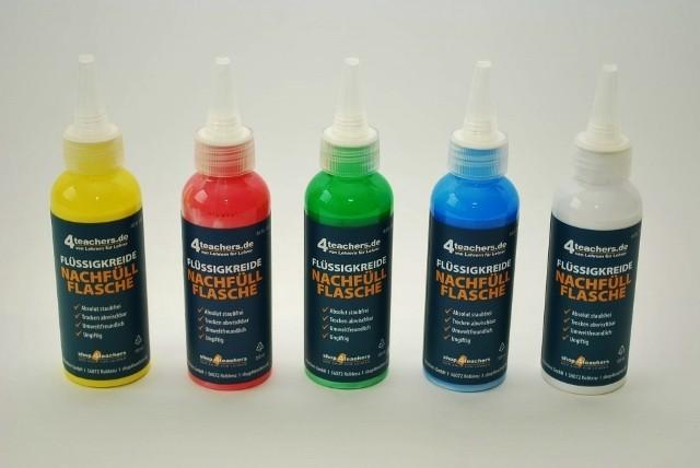 Nachfüllflasche für Flüssigkreidemarker 100 ml