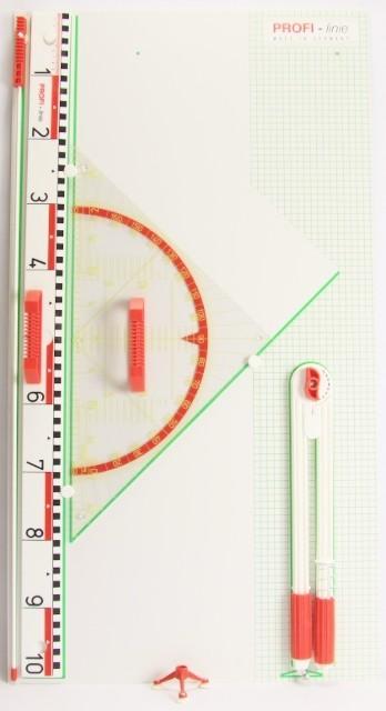 Geo-Gerätetafel mit Geo-Dreieck 60 cm